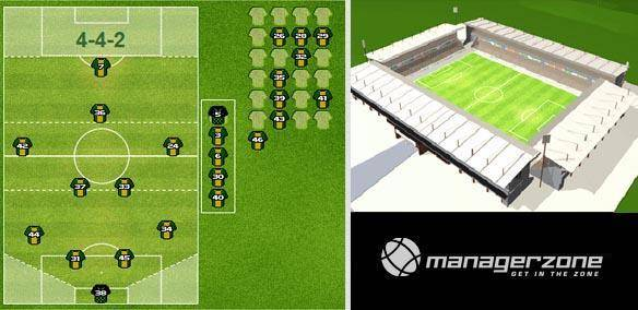 ManagerZone Football gratis mmo